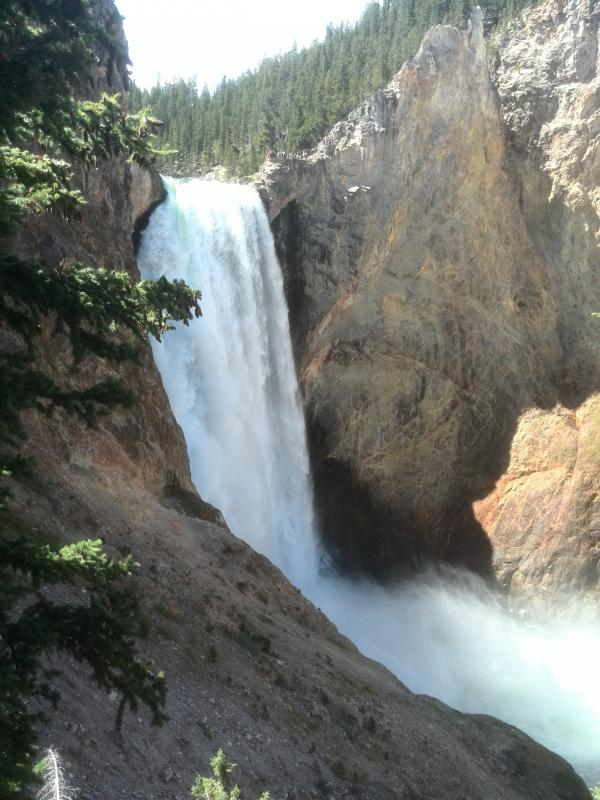 Waterval yellowstone