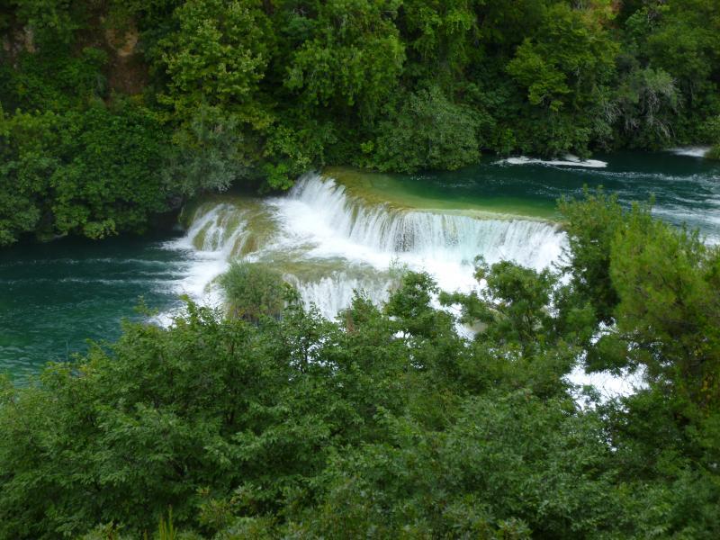 Watervallen nationaal park krka