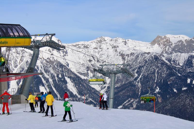 skien snowboarden Oostenrijk wintersportvakantie