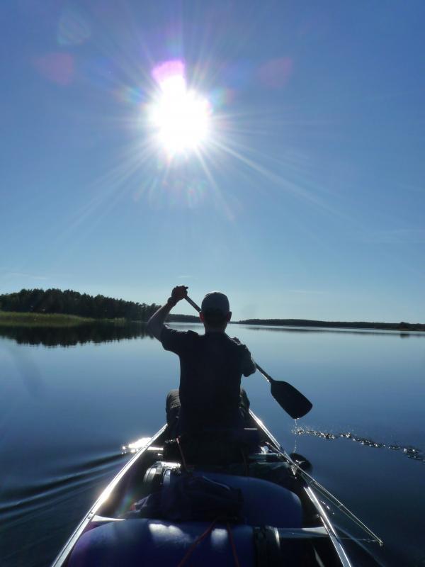 Zweden kano vakantie
