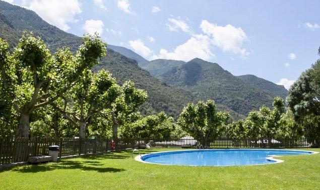 Zwembad camping Orri de Pallars