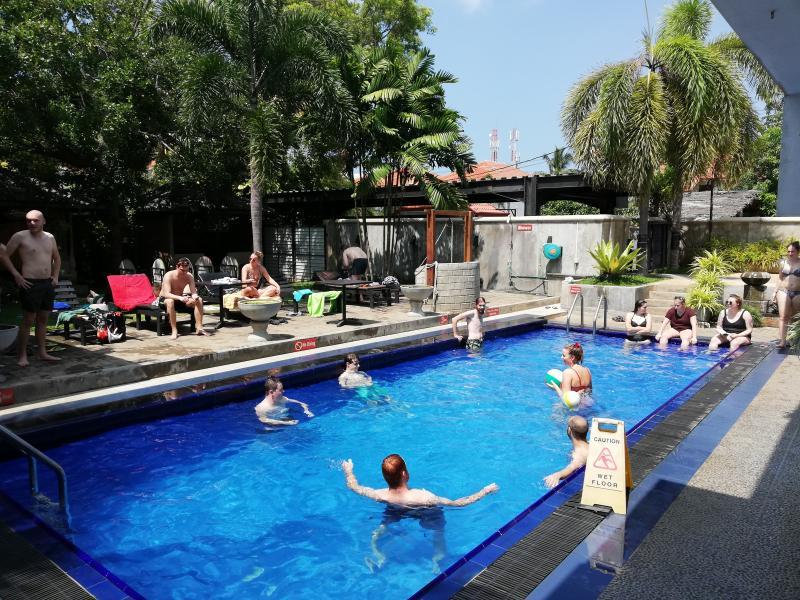 Zwembad in Sri Lanka