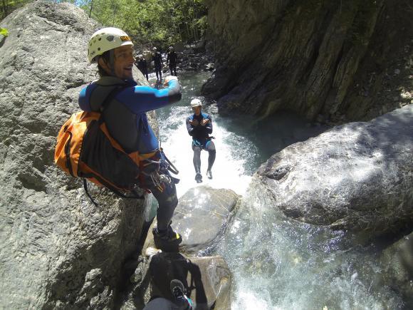 canyoning uitgelegd