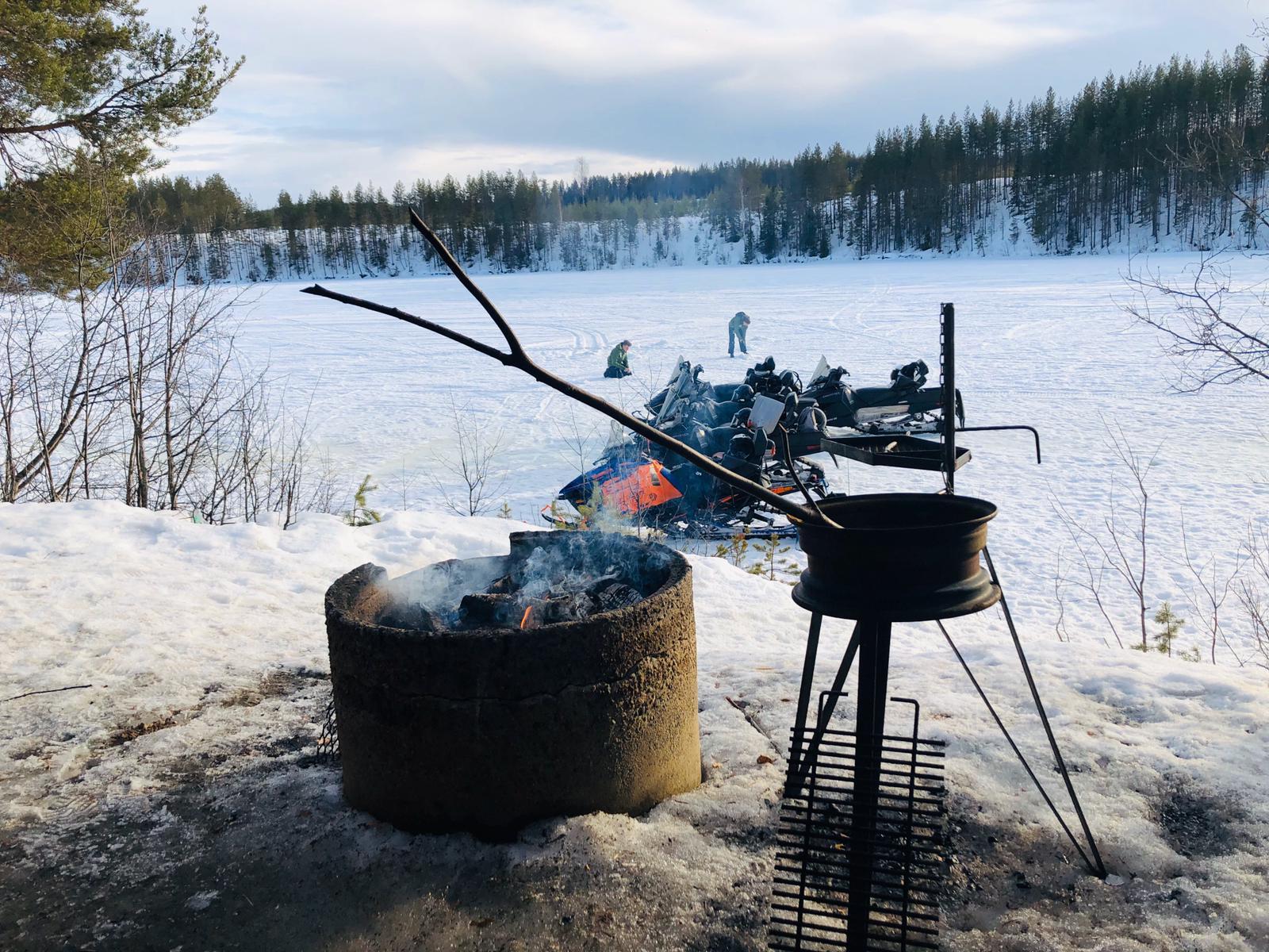 Single groepsreis Lapland