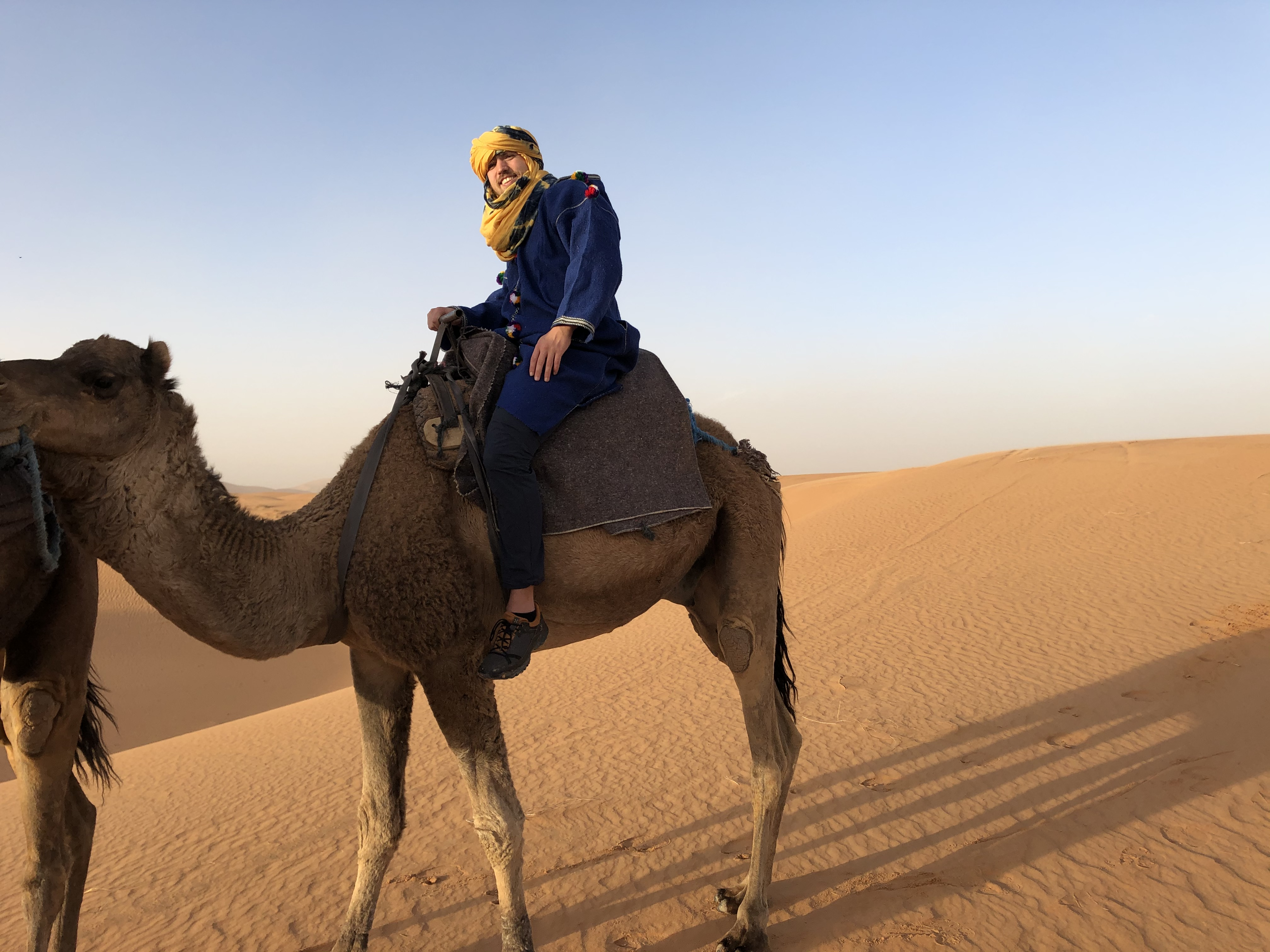 Marokko kamelenrit woestijn