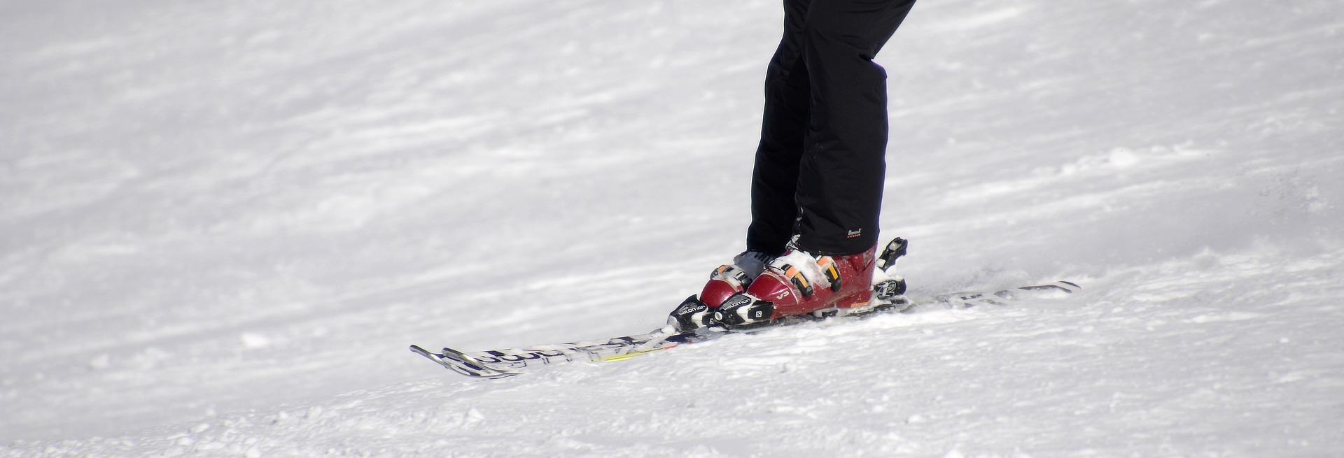 Wintersport studenten